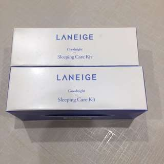 BN Laneige goodnight sleeping care kit