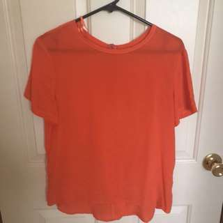 100% silk top size 10-12 #CheapAsChips