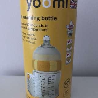 Yoomi self-warming bottle 8oz/240ml