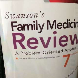 Swanson Family Medicine Review 7th edition