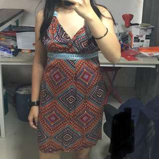 Tribal Beach Dress