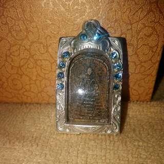 Thai Amulet: somdej watgechaiyo顺德彿牌之佛牌之王 啊赞多 (事业,人缘,平安)收藏品