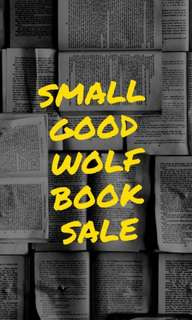 //small good wolf book sale//