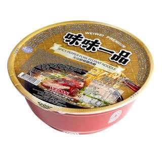 台灣 火山胡椒豬肉杯麵
