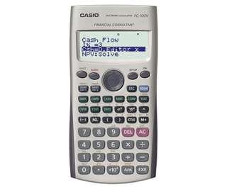 Fc-100v financial calculator