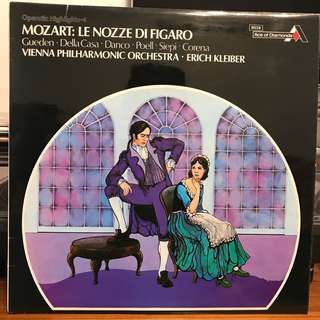 Mozart The Marriage of Figaro Erich Kleiber Operatic Highlights DECCA SDD 237