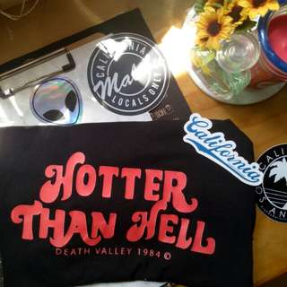 INSTOCKS brandy melville hotter than hell tee