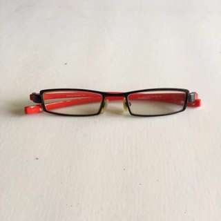 Red Spectacles Frame