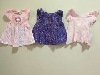 Very Good Condition Preloved baby dresses TAKE ALL