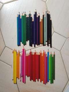 [BULK LOT] Heaps of Coloured Pencils