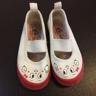 日本Moonstart女幼童帆布鞋(14cm)