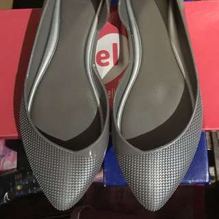 Mel Silver Pointed Shoe