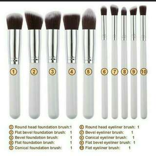 $4.90-$5.90 free mail makeup brushes for eyeshadow Foundation blusher