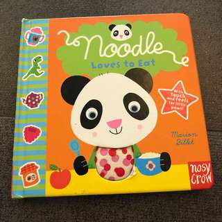 0-2Y EUC Noodle loves to eat board book