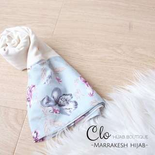 (NEW) Marrakesh Hijab Instant by Clo Hijab