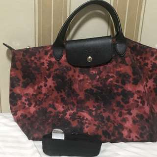 longchamp le pliage neo red