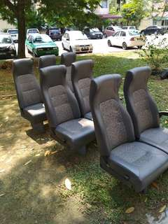 Seat kerusi van