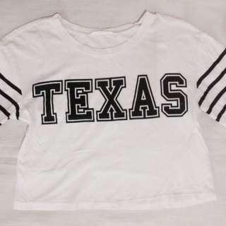 Texas croptop