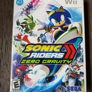 Wii Sonic Riders