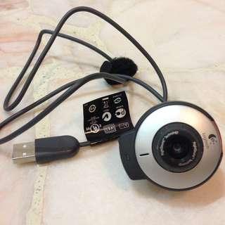 Logitech Webcam v-ubs47 Clip-on for Laptop Notebook