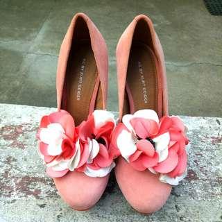 Gamusa Pink Heels - Japanese/Korean Fashion