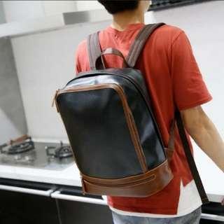 韓版旅行學生休閒手提單肩雙肩書包39*31cm (街頭客推廣系列) (包Buyup自取站取貨) (特選)