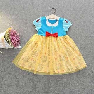Beautiful Princess Girls Table Clothing Dress