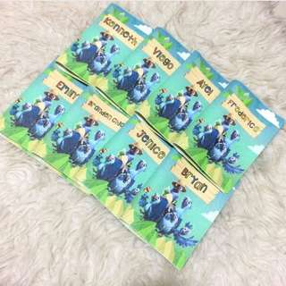 CUSTOM PASSPORT HOLDER RIO bird