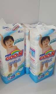 Brand New Unopen Goon XL Tape Diapers