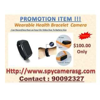 Spy Camera Bracelet Wearable