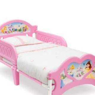 Preloved Disney Princess Bed
