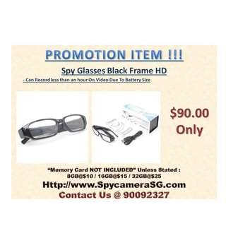 Spy Glasses Camera