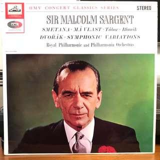 Sir Malcolm Sargent Smetana Ma Vlast EMI SXLP 20064