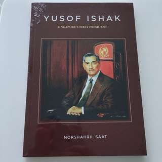 Brand New Sealed Book on Yusof Ishak Singapore's First President