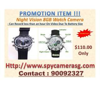 Spy Camera Watch 8GB