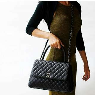 PO chanel coco top handle 2 ways handbag*waiting time 2-3days after payment is made*pm to order