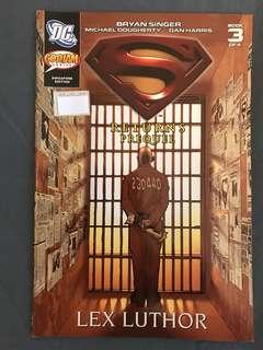 DC Superman Returns Prequel : Lex Luthor