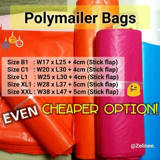 [CHEAPER] BIG Polymailers