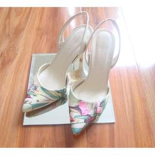 Vincci floral heels