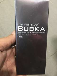 Bubka hair growth lotion (made in Japan)