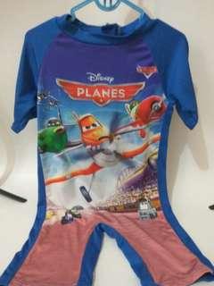 Baju Renang Anak Plane