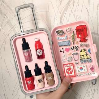 Peripera fashion people's carrier kpop girl in pink