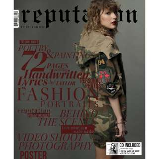 Taylor Swift Reputation vol 2