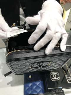 Chanel Vanity Case (M size )