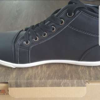 Bata Northstar Black Shoes (Almost New)