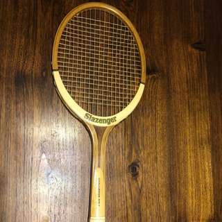 Vintage SLAZENGER CHALLENGE NO.1 Wooden Antique Tennis Racket Racquet