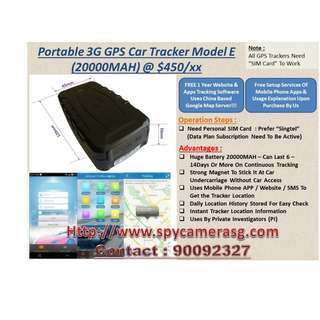 Gps Tracker 3G Big Battery uses By Private Investigrator