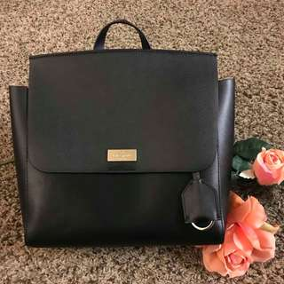 Kate Spade New York -Quincy Putnam Drive -Black Backpack Authentic 💯