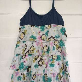 Maong Floral dress