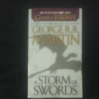 A Storm of Swords (Game of Thrones)